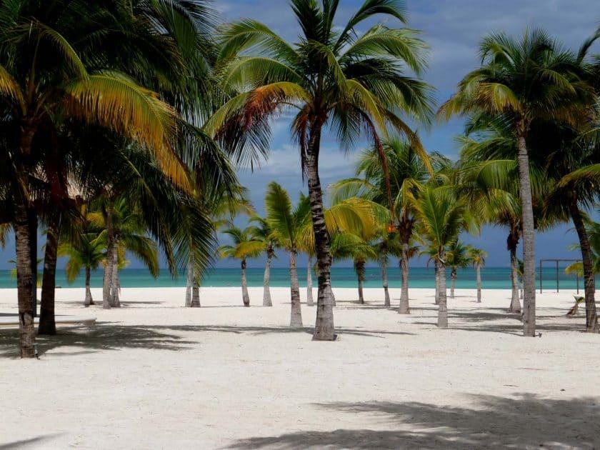 Mexiko Cozumel Strand Isla de la Pasion