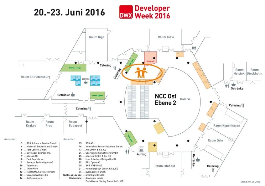 Welcome-App_auf_DWX-Hall plan