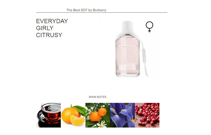 The Beat EDT by Burberry