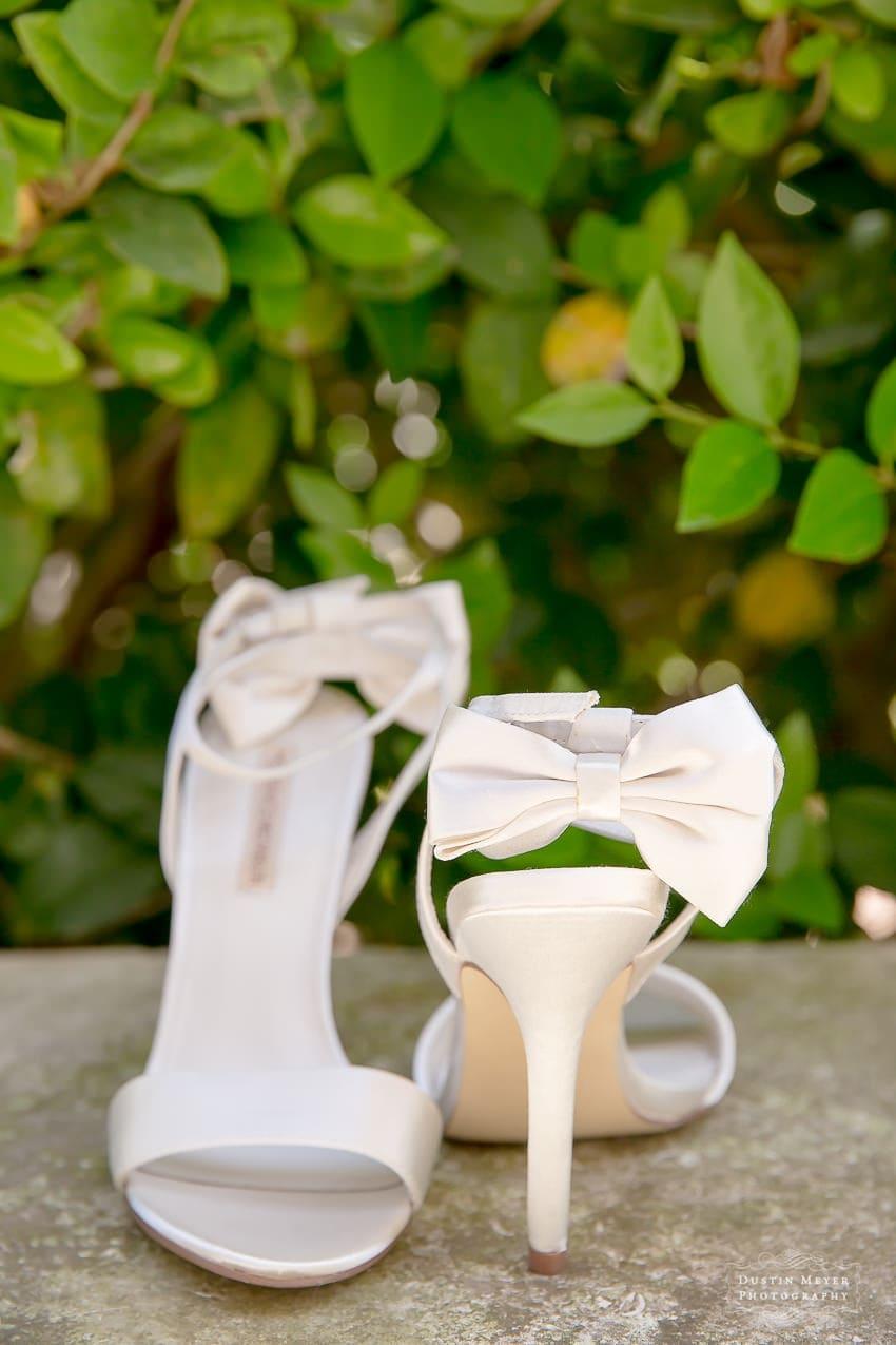 Gorgeous wedding bridal shoes