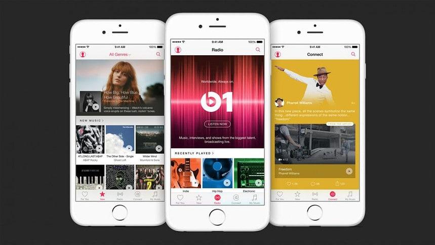 Apple Music is beschikbaar voor je iPhone.