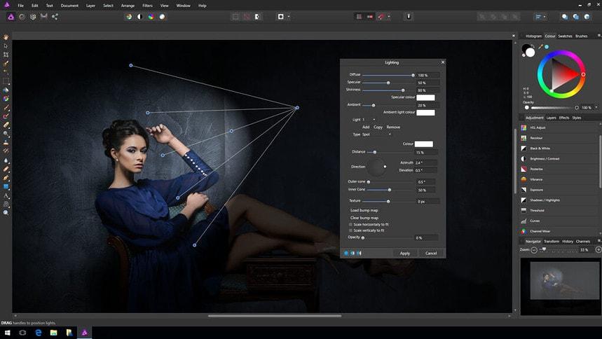 Affinity Photo is het alternatief voor Adobe Photoshop.