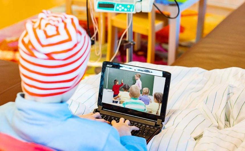 Klassissimo: Das Krankenzimmer wird zum Klassenzimmer