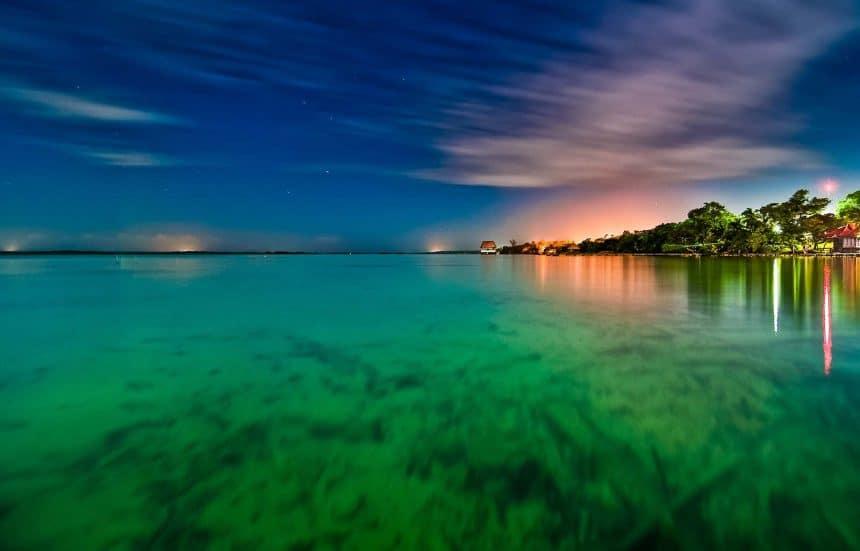 Ausflug ab Cancun, Mexico - Bacalar und die Lagune der sieben Farben
