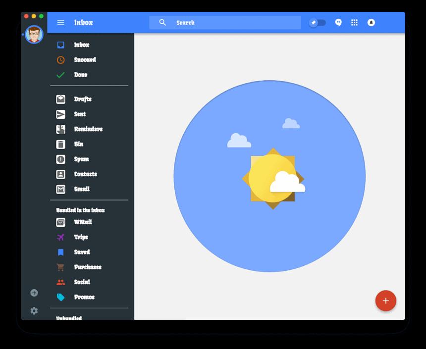 Je kunt de interface van Wmail aanpassen per Gmail account.