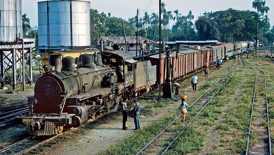 Ferrocarril en Puerto Barrios