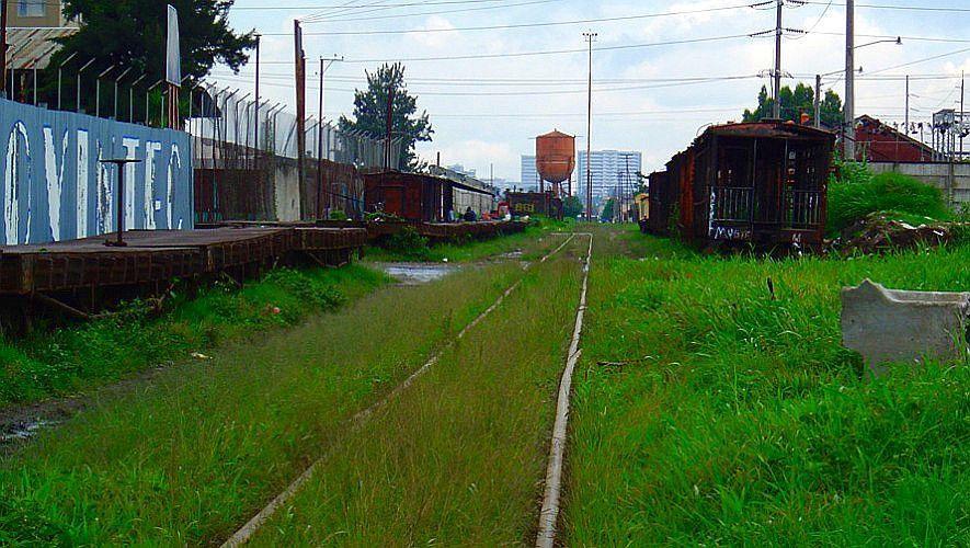 Antigua estación de ferrocarril de Gerona en Ciudad de Guatemala