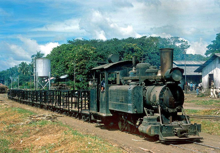 Ferrocarril Occidental en Pantaleón