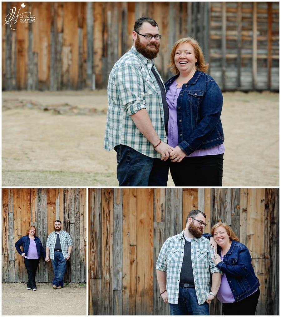 Dallas Wedding Photographer | Frisco Heritage Museum Engagement | Lyncca Harvey Photography