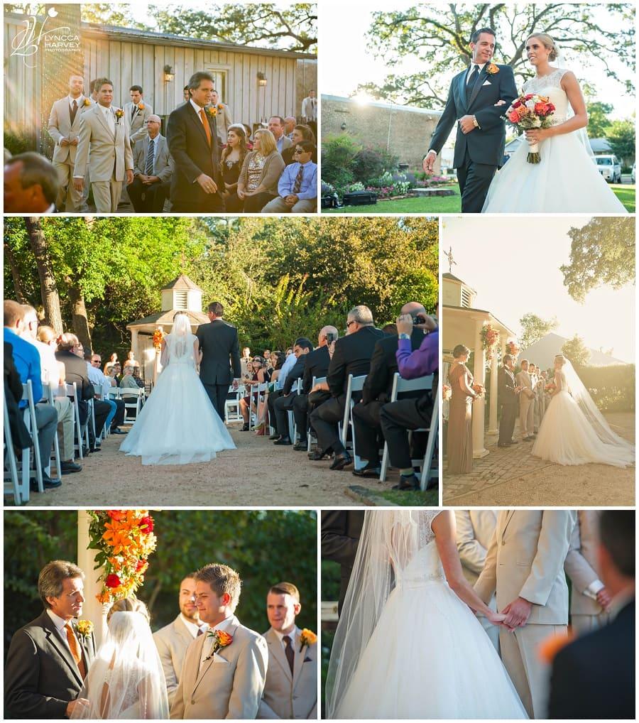 Houston Wedding Photographer   Butler's Courtyard   Lyncca Harvey Photography