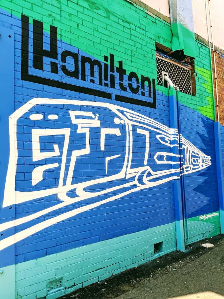 Hamilton New South Wales Street Art