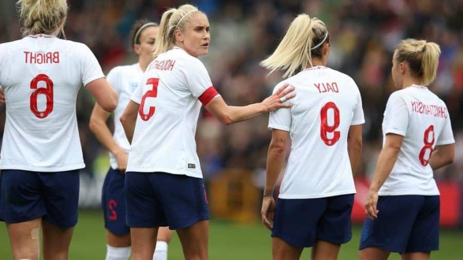 England Women World Cup Team