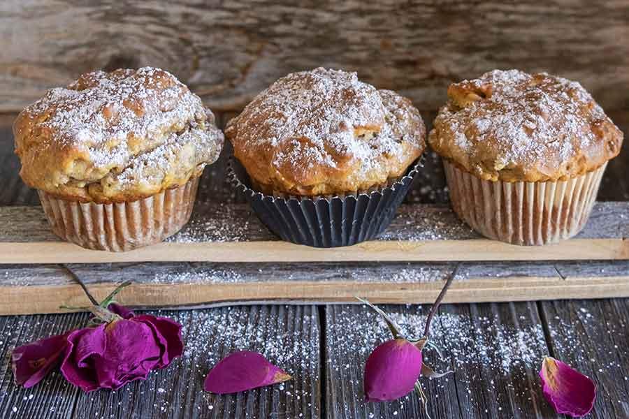 walnut muffins, gluten free