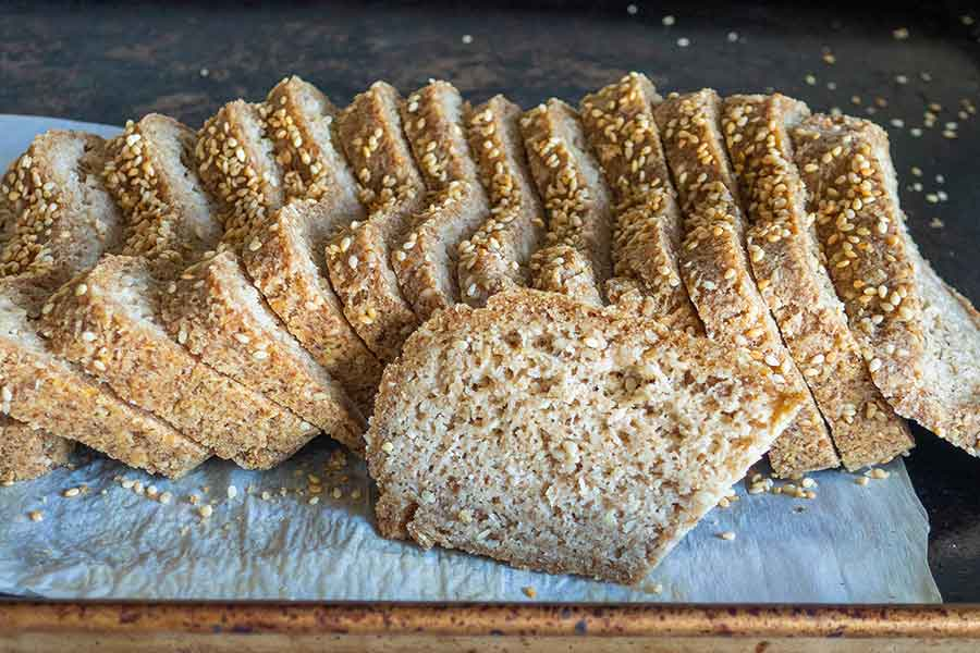 vegan low carb bread