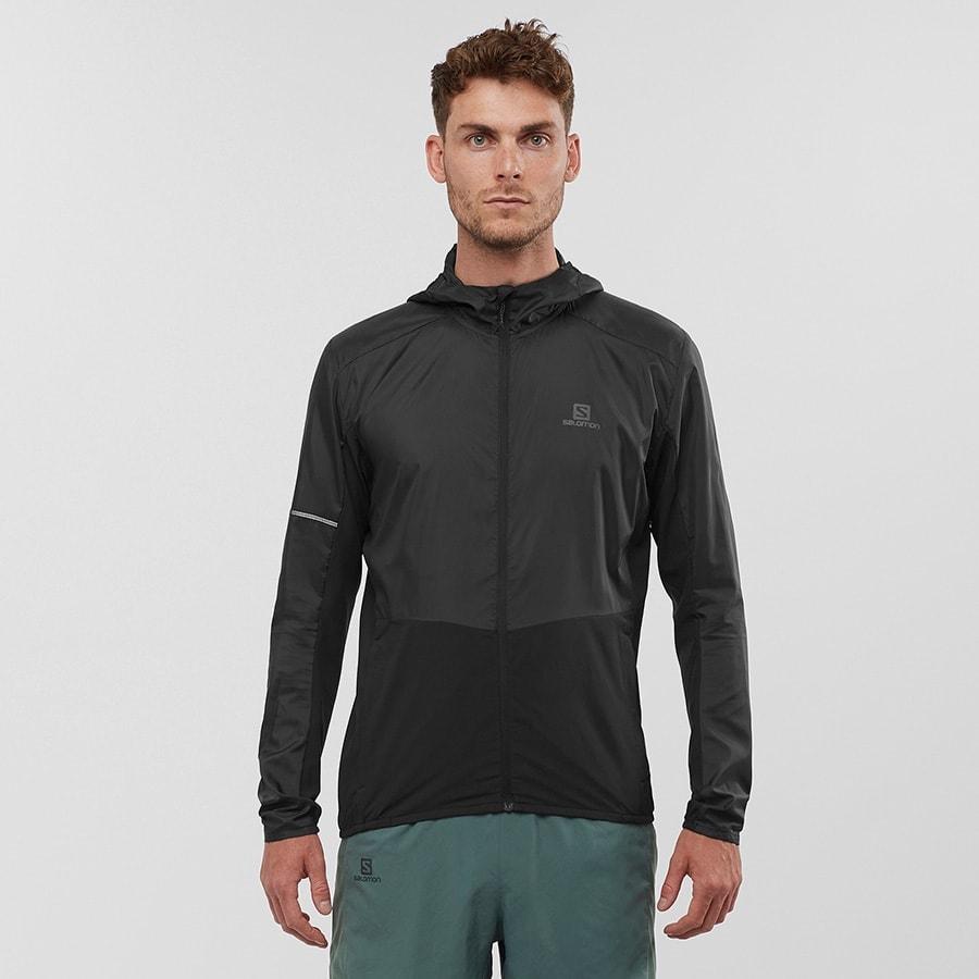 Куртка для бега Salomon Agile FZ Hoodie