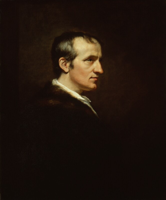 William Godwin by James Northcote (oil on canvas, 1802). National Portrait Gallery 1236 ccbyncnd2 licence