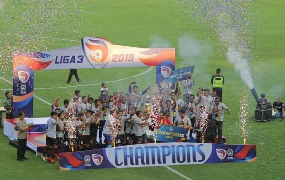 Wow, Persijap Jepara Juara Liga 3 2019