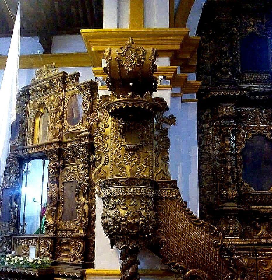 Púlpito Iglesia San Mateo en Salamá