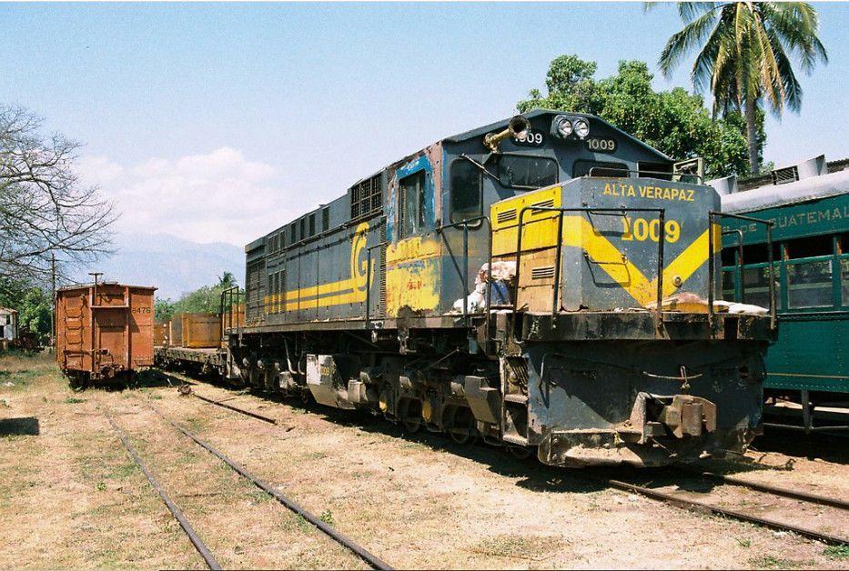 Locomotora Ferrocarril Verapaz