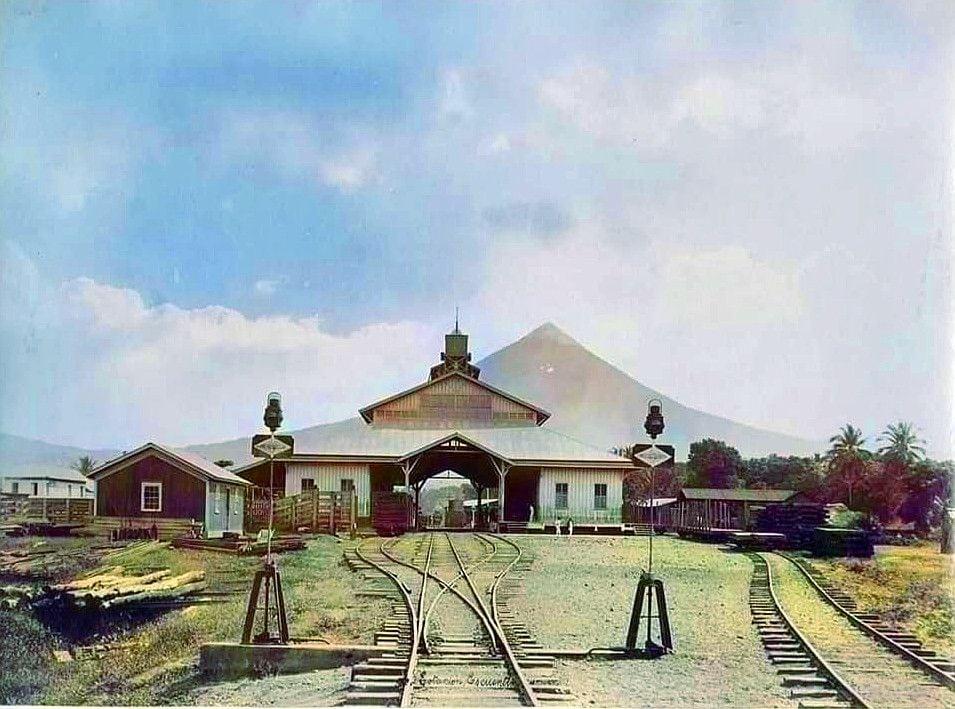 Vista general de la estación de Escuintla