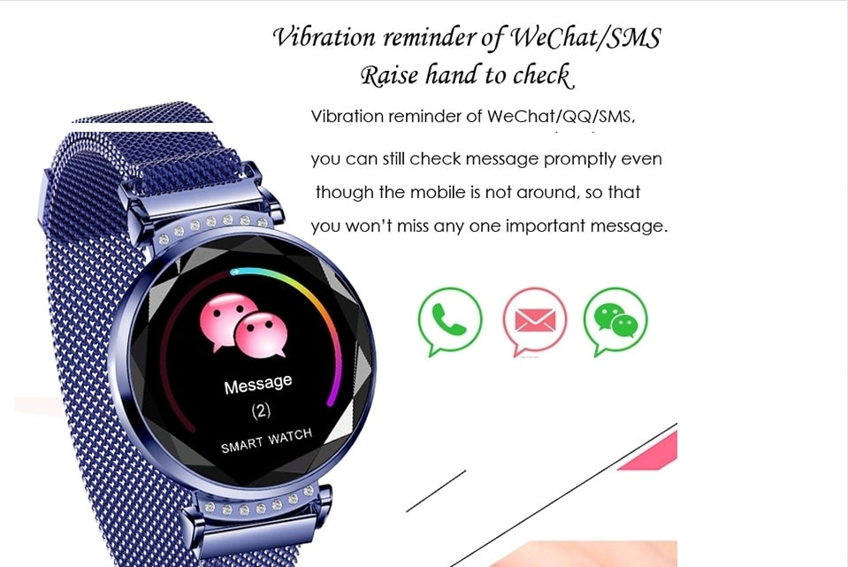funkcje smartwatch damski