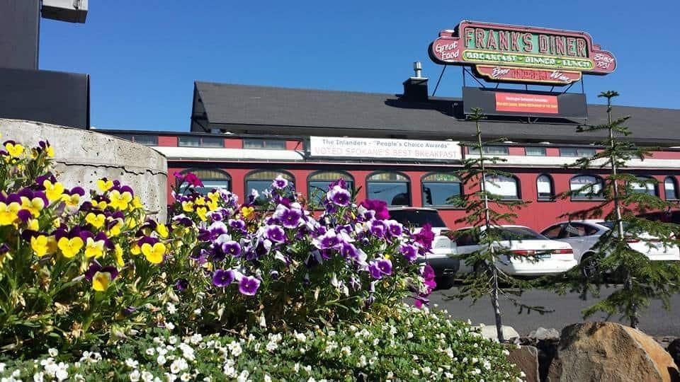 Frank's Diner brunch spot in Spokane brunch spots in spokane