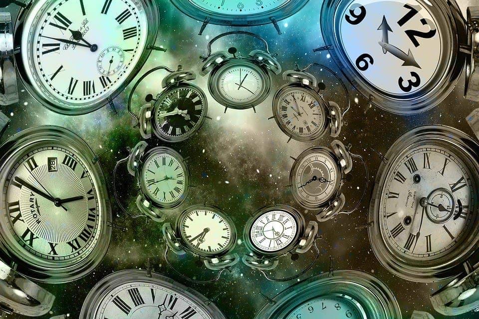 multiple clocks in the cosmos