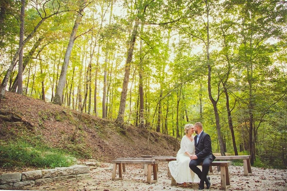 wedding in the woods crescent hotel