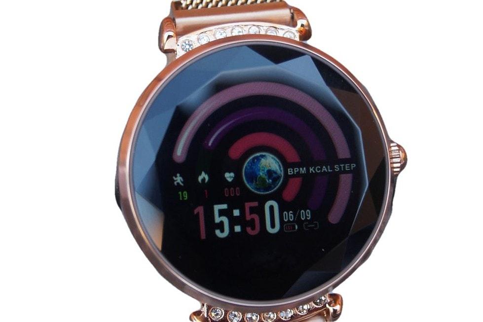 damski zegarek smartwatch luksusowy