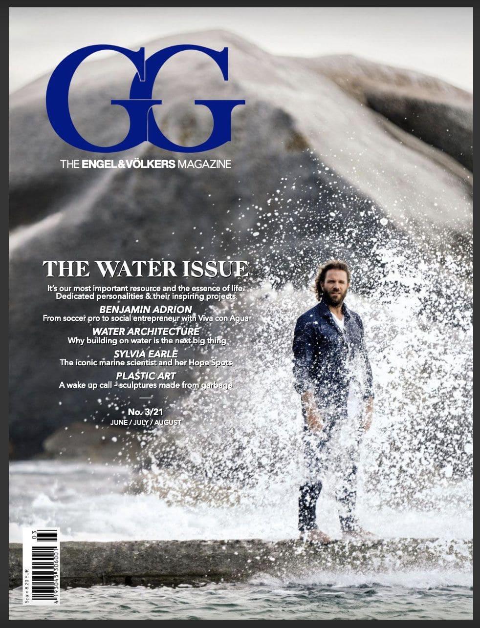 portada GG magazine engel & volkers xisco fuster fotografo