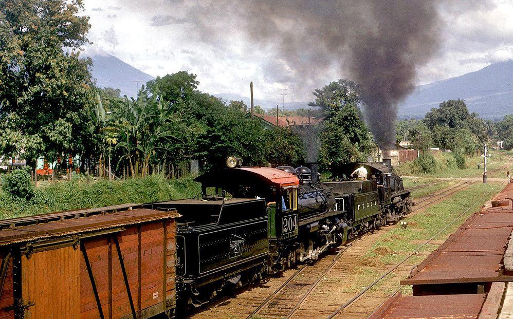 Ferrocarril en Escuintla