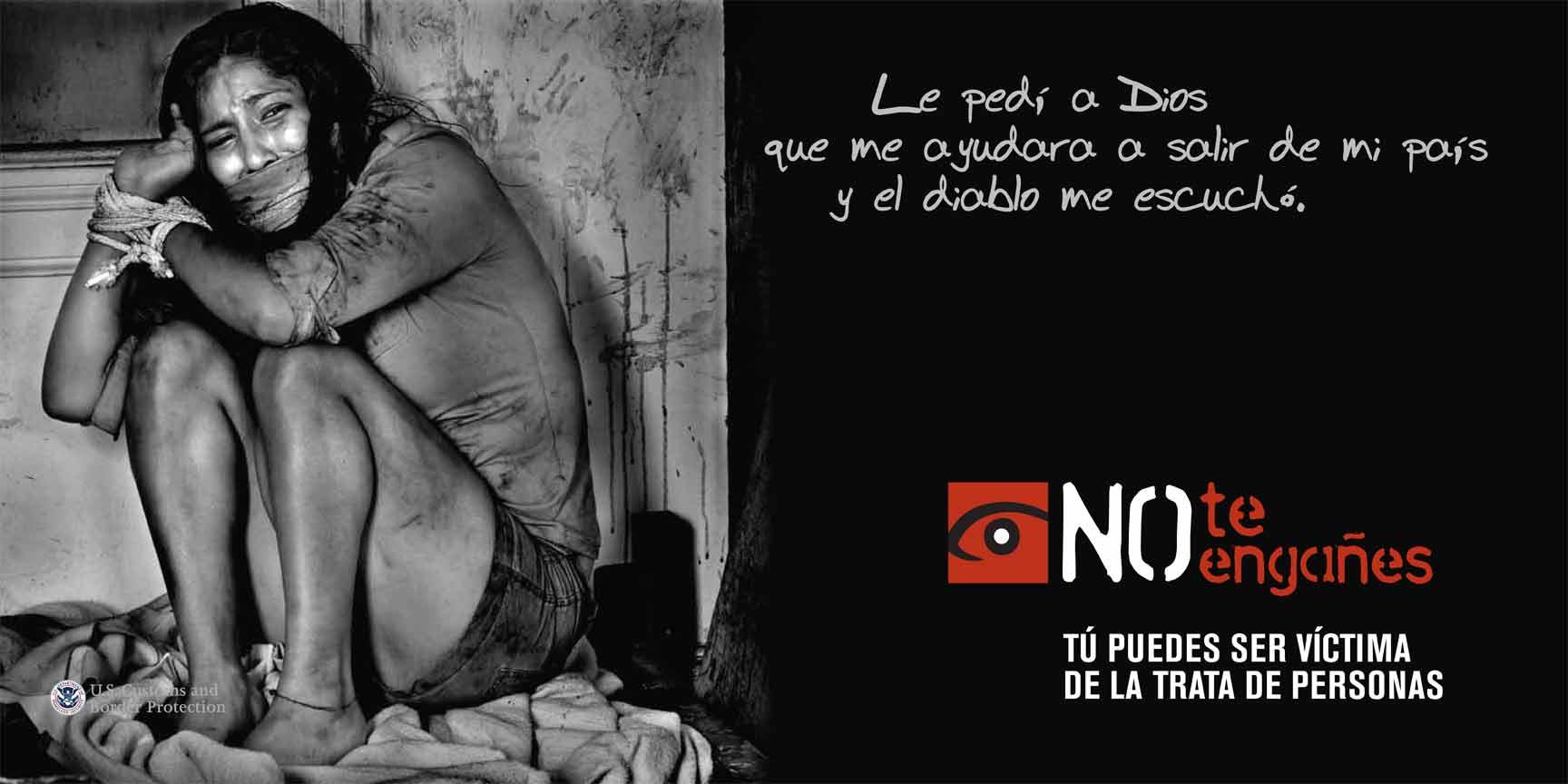 Menor brasileira poderia ser vítima de tráfico humano