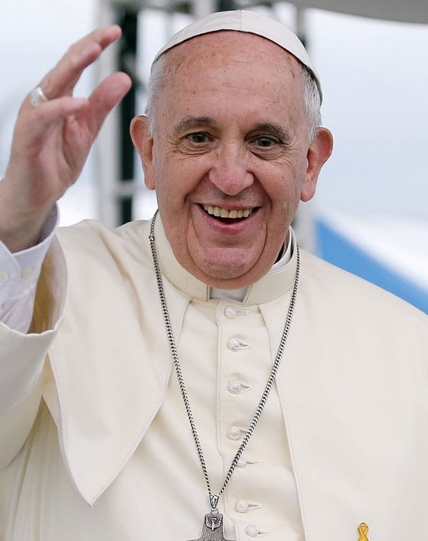 Papa de receber o Prêmio Nobel da Paz