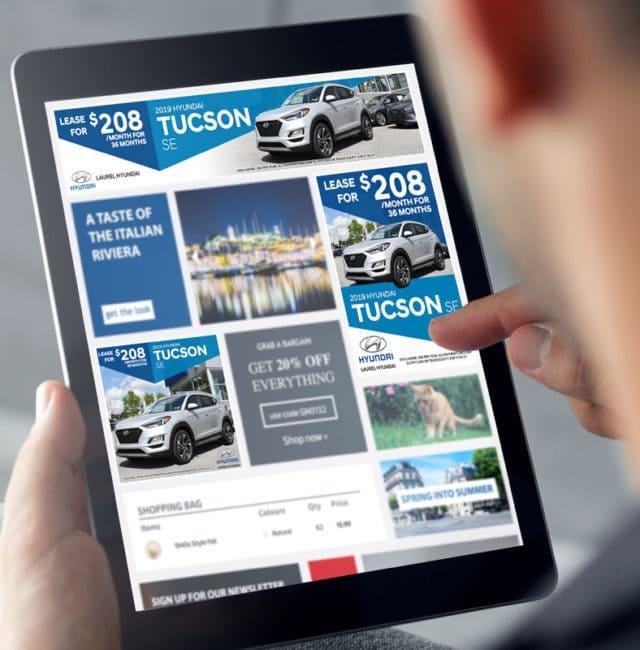 Laurel Auto Group Hyundai Digital Ads