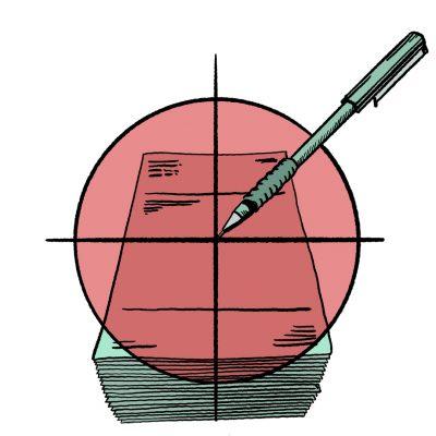 Business Analysis Tech Writing Icon