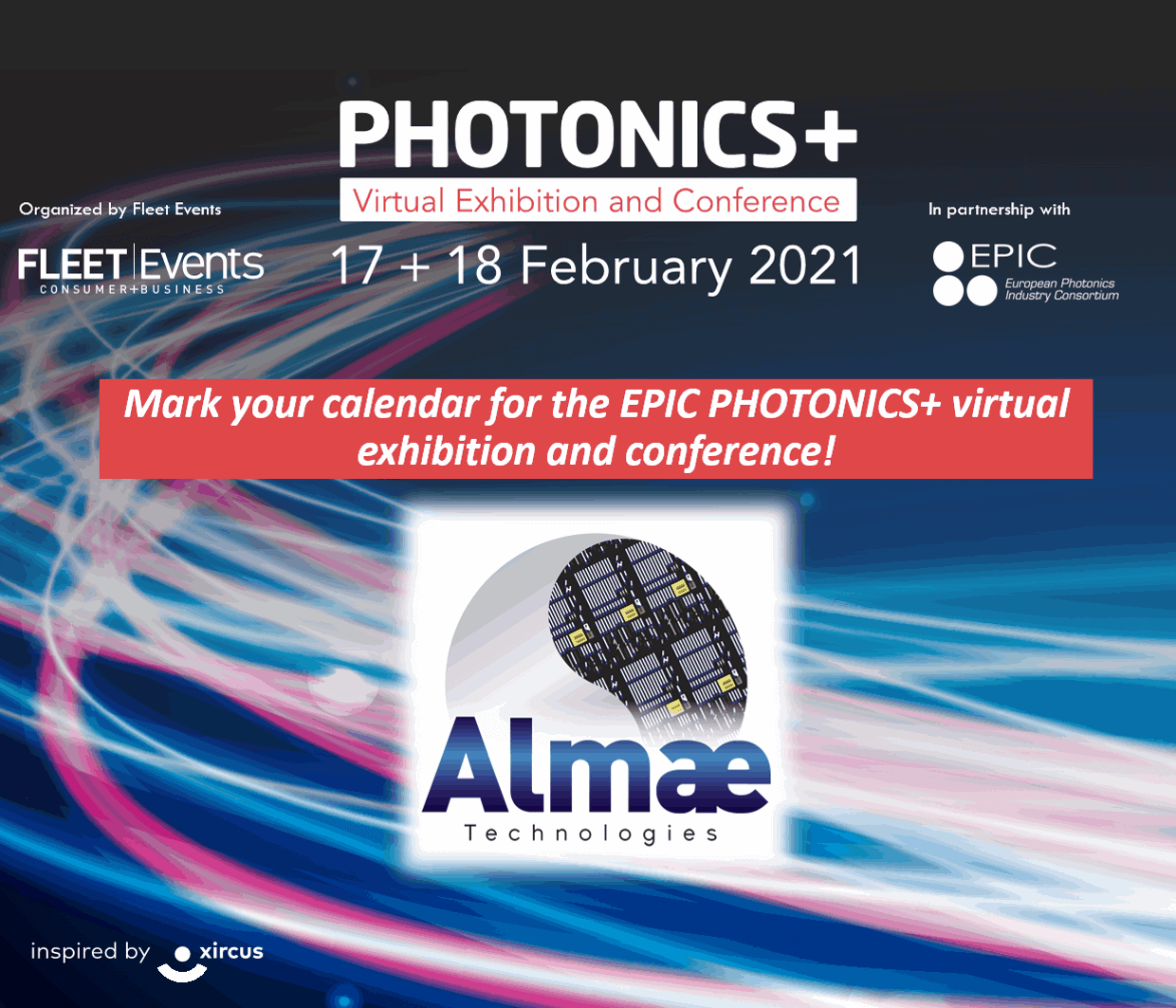 EPIC Photonics+ Virtual Exhibition and Conference 2021