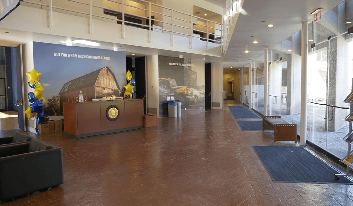 Alumni Center Lobby - Before