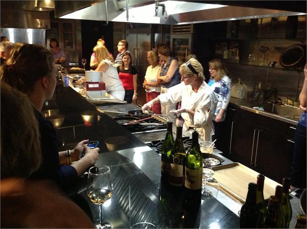 June 2013 Cooking Class at Mirepoix Cooking School