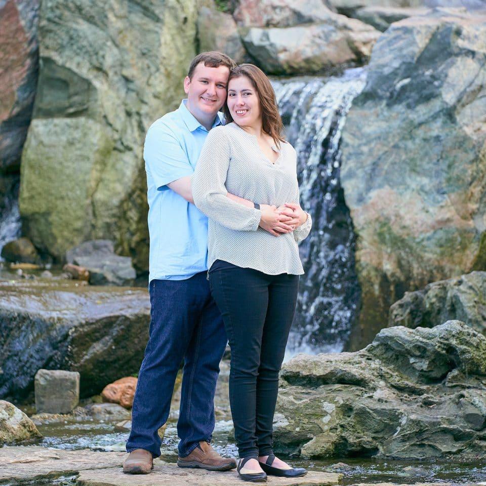 Chicago Engagement Photographer | Sandra Fernandez and Billy Morgan Engagement Shoot - Garden of the Phoenix