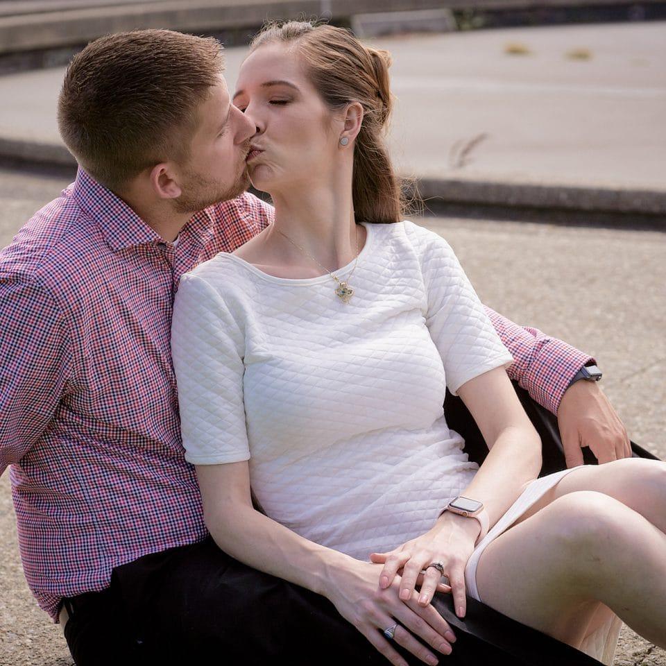 Chicago Engagement Photographer | Eileen Hogan and Jordan Goss Engagement Shoot - Milton Lee Olive Park, Chicago, IL