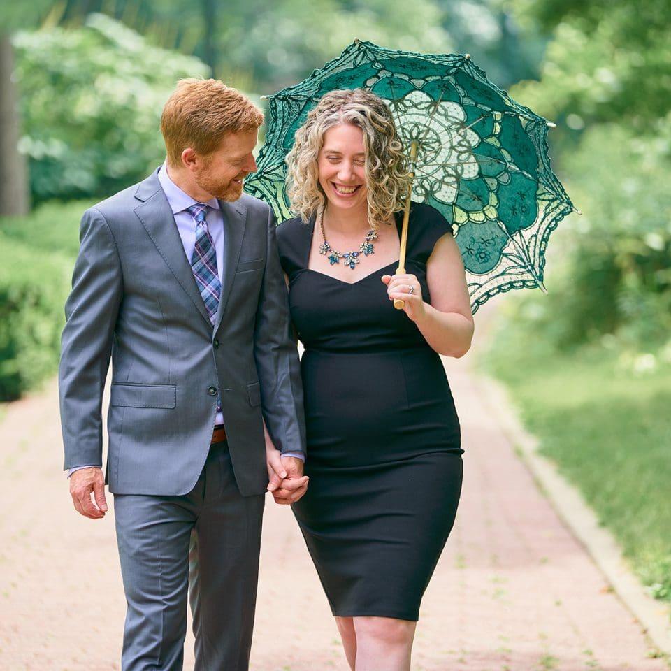 Chicago Engagement Photographer | Joy Rebekah and Jeff Messer Engagement Shoot - Naperville Riverwalk, Naperville, IL