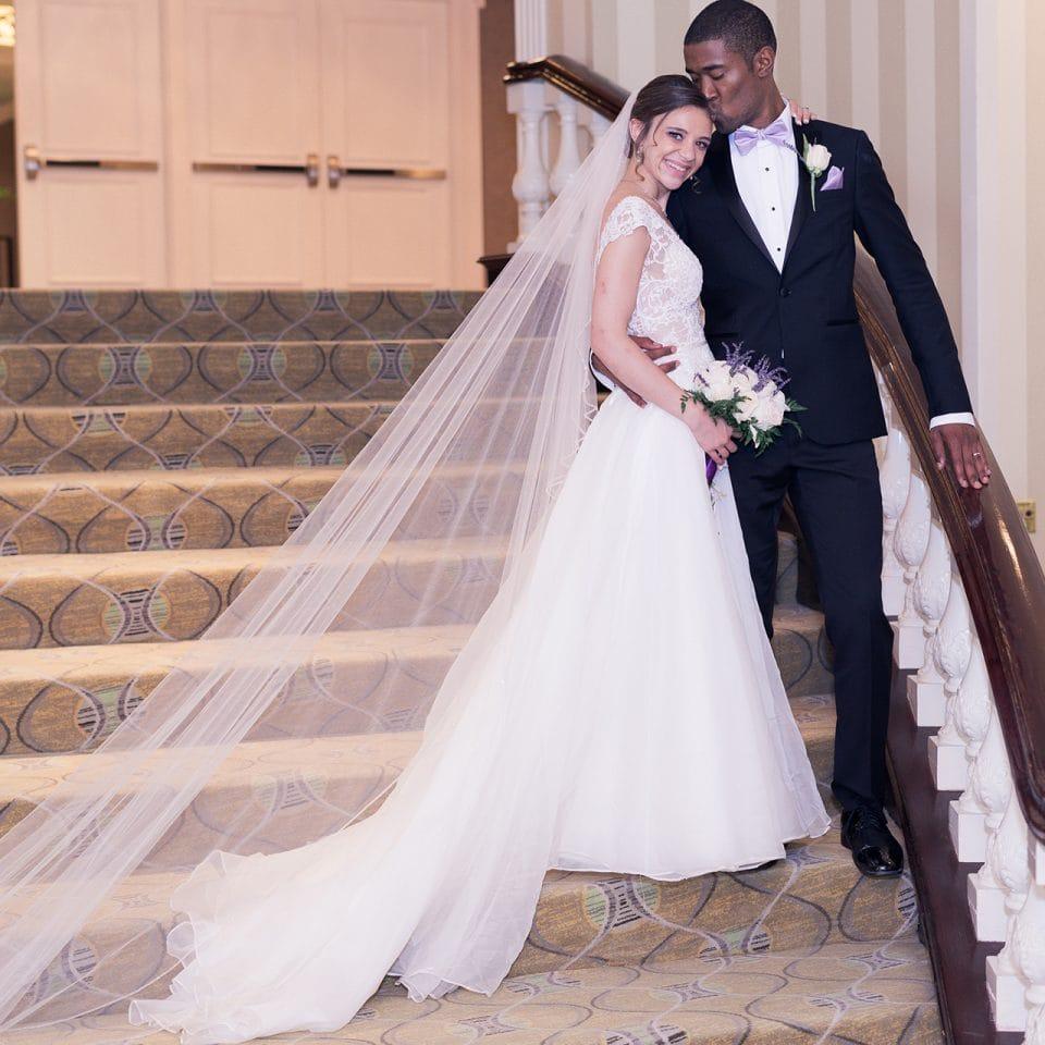 Chicago Wedding Photographer   Miracle and Ariel Jenkins Wedding - Clark Street Beach - Hilton Orrington/Evanston