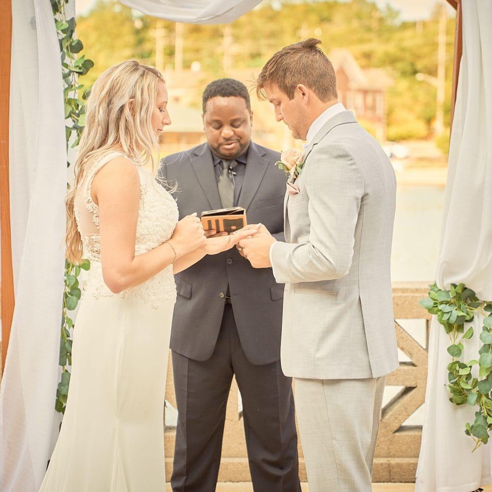 Hotel Baker Wedding Ceremony