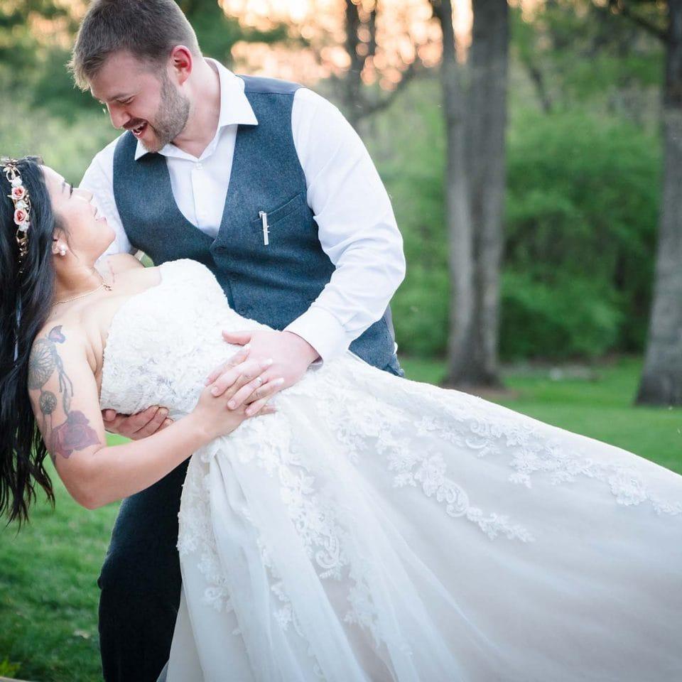 Kilbuck Creek Wedding - James and Catherine Wedding Dip