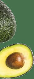 Transparent image avocado