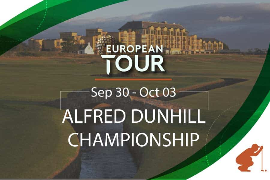 European Tour Resumes With Alfred Dunhill Championship