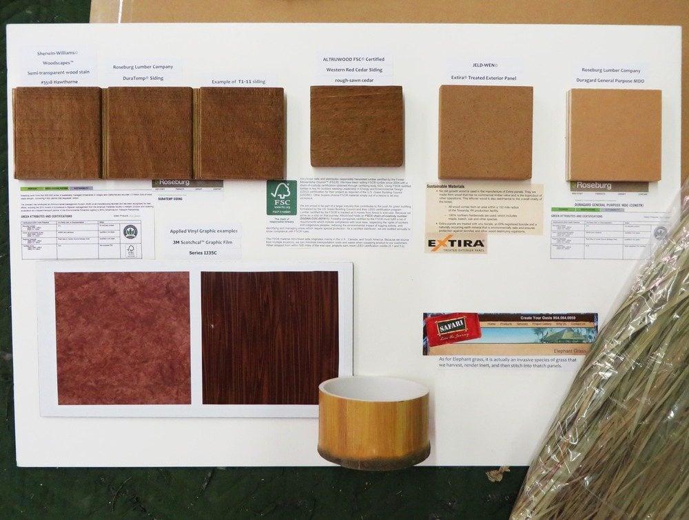 sampleboard