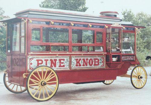 Popcorn carriage