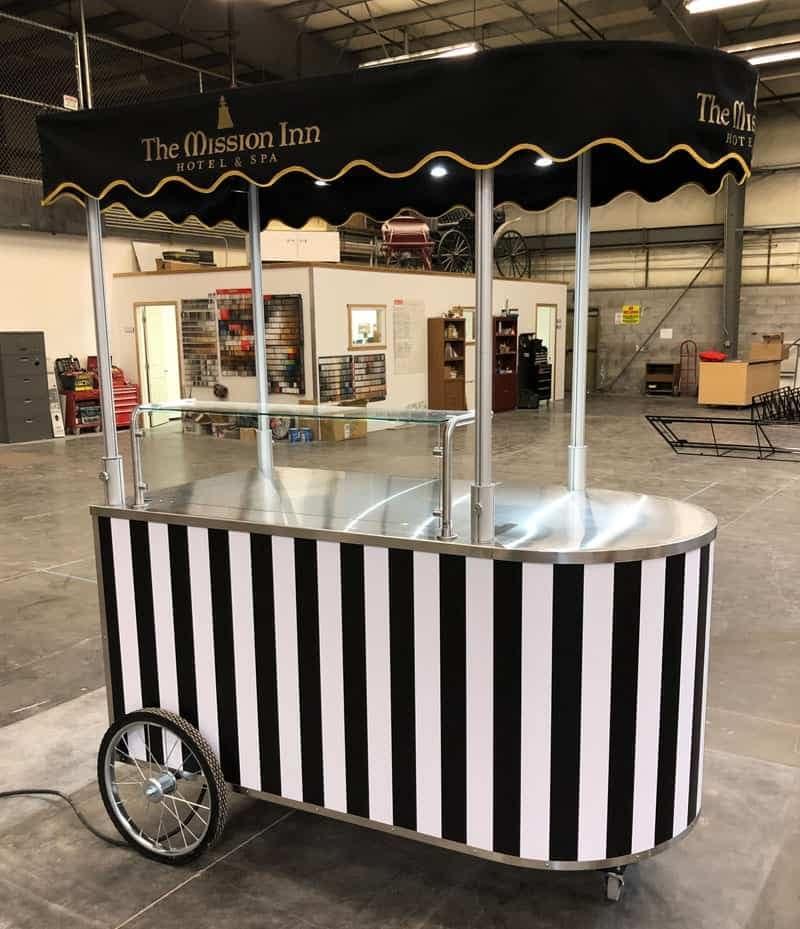 mobile food cart builder