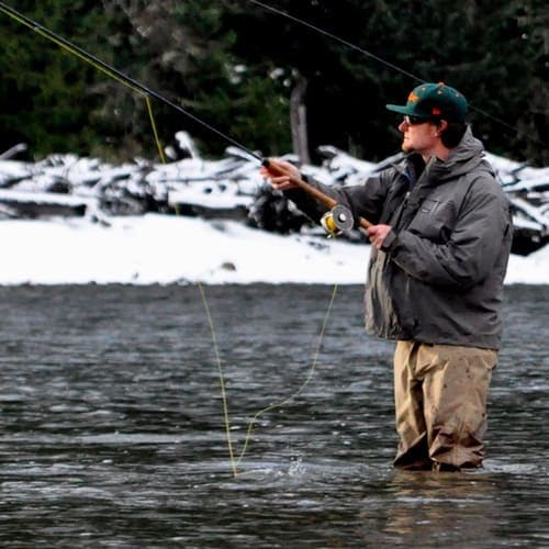 WINTER FLY FISHING TRIPS FOR BULL TROUT NEAR VANCOUVER